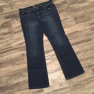 Mossimo Low Rose Bootcut Jeans 14